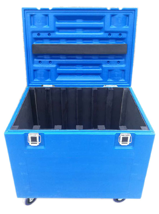 Plastic flight case